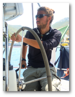 Skipper - Greece by Sailing: Jacopo Maglieri
